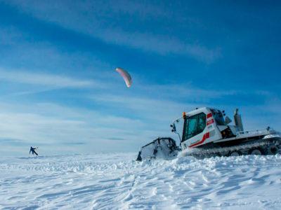 Сноукайтинг в Ергаках — прикосновение к стихии ветра и снега