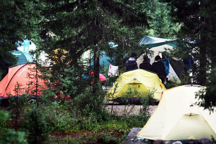 Ергаки полаточный лагерь