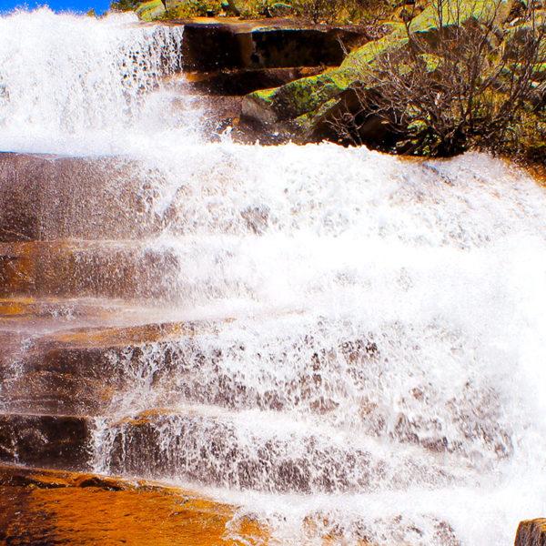 Маршрут на водопад Мраморный