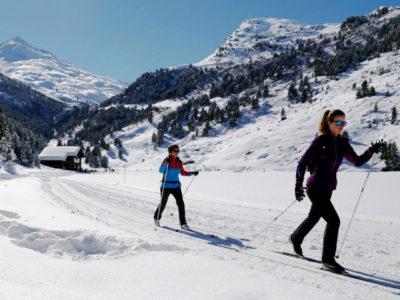 Беговые лыжи в Ергаках
