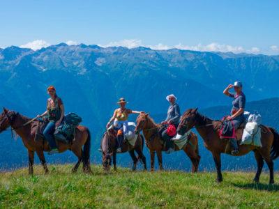 Конные прогулки в Ергаках