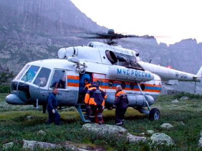 Спасательную операцию в природном парке «Ергаки»