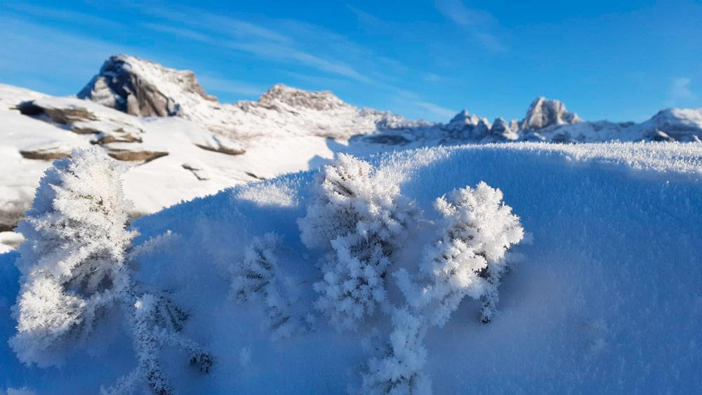 походы зимой